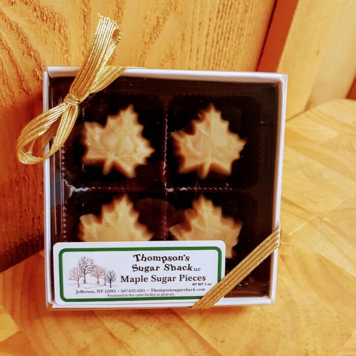 Thompsons Sugar Shack Maple Sugar 4 Piece Box